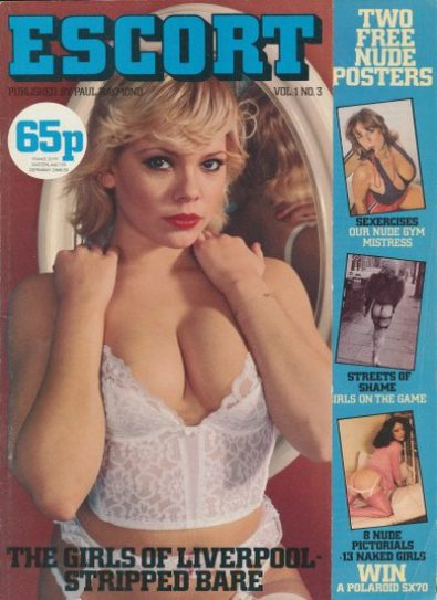 Front cover of Escort Volume 1 No 3 magazine
