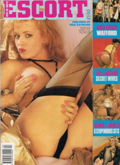 Front cover of Escort Volume 10 No 4 magazine