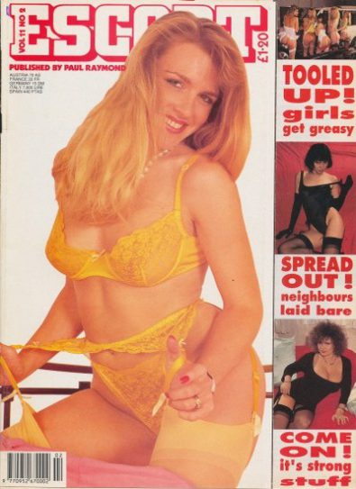 Front cover of Escort Volume 11 No 2 magazine