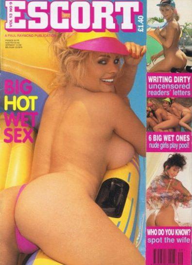 Front cover of Escort Volume 13 No 9 magazine