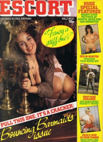 Front cover of Escort Volume 2 No 12 magazine