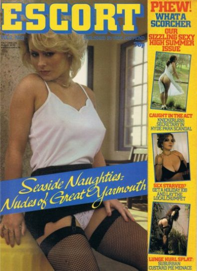 Front cover of Escort Volume 2 No 8 magazine