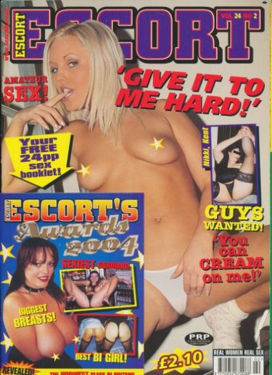 Front cover of Escort Volume 24 No 2 magazine