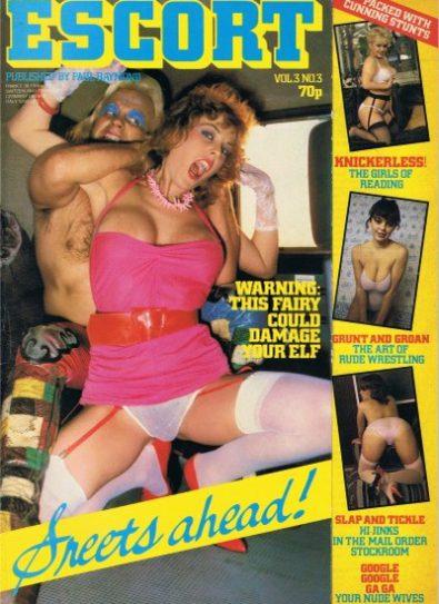 Front cover of Escort Volume 3 No 3 magazine