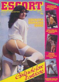 Front cover of Escort Volume 3 No 7 magazine