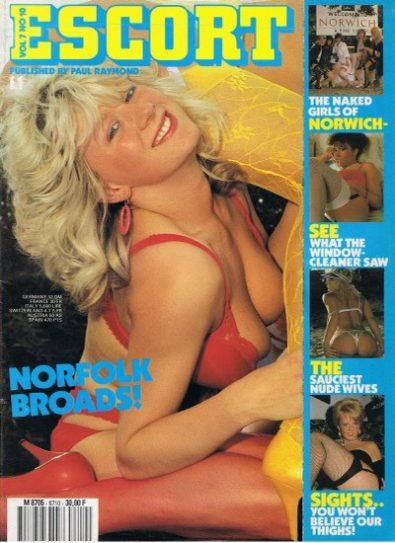 Front cover of Escort Volume 07 No 10 magazine