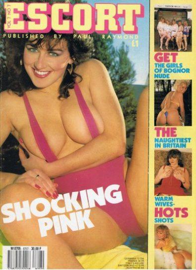 Front cover of Escort Volume 07 No 7 magazine