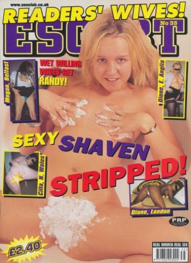 Front cover of Escort Readers Wives No 35 magazine