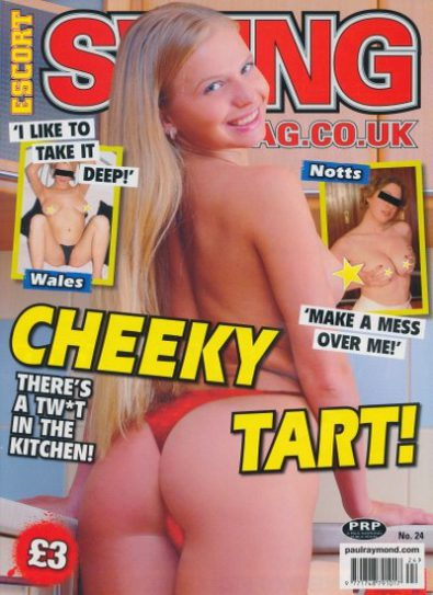 Front cover of Escort Swing No 24 magazine