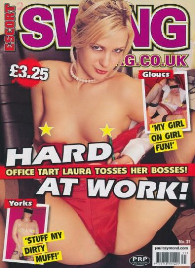 Front cover of Escort Swing No 31 magazine