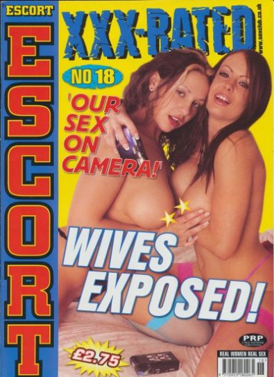 Front cover of Escort XXX Rated 18 magazine