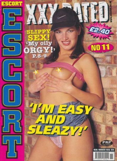 Front cover of Escort XXX Rated No 11 magazine