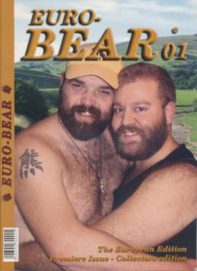 Front cover of Euro-Bear Issue 1 magazine