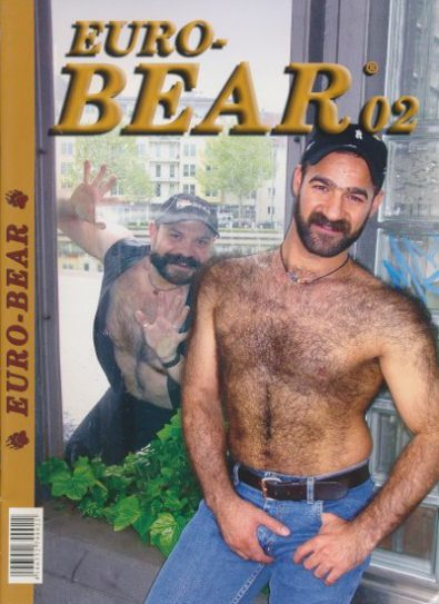 Front cover of Euro-Bear Issue 2 magazine