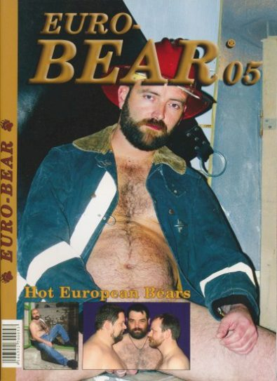 Front cover of Euro-Bear Issue 5 magazine