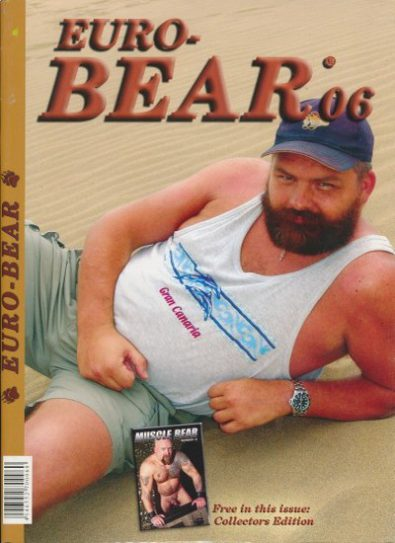 Front cover of Euro-Bear Issue 6 magazine