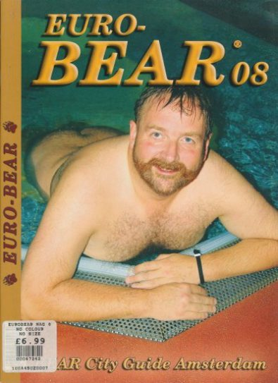 Front cover of Euro-Bear Issue 8 magazine