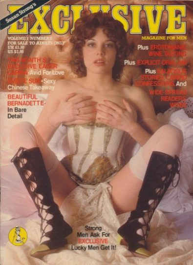 Front cover of Exclusive Volume 1 No 8 magazine