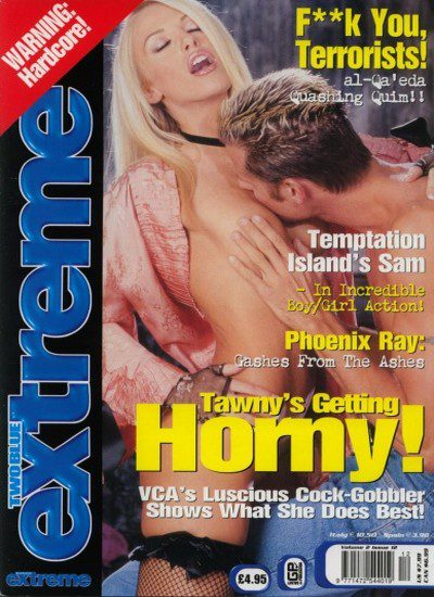 Front cover of TwoBlue Extreme Vol 2 No 12 magazine