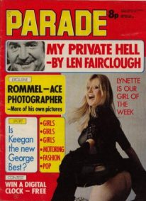 Front cover of Parade February 10th 1973 magazine
