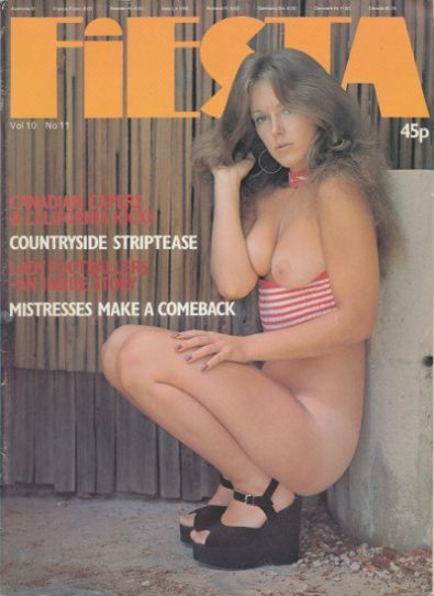 Front cover of Fiesta Volume 10 Number 11 magazine