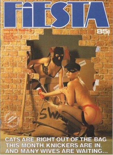 Front cover of Fiesta Volume 18 No 8 magazine