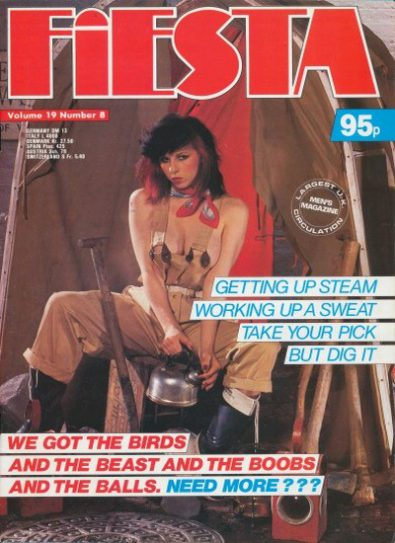 Front cover of Fiesta Volume 19 No 8 magazine