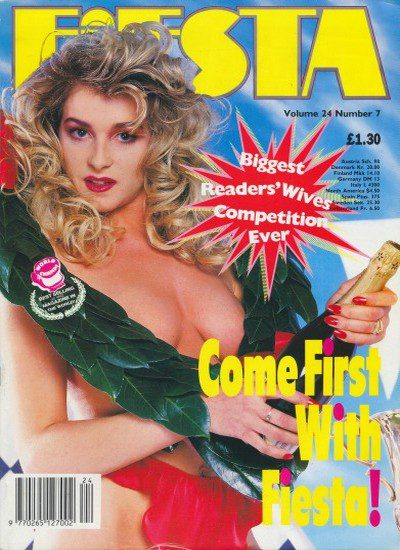 Front cover of Fiesta Volume 24 Number 7 magazine