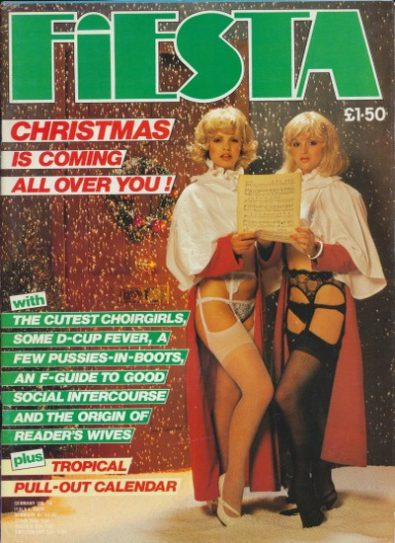 Front cover of Fiesta Christmas Special 1984 magazine