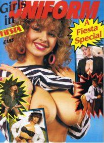 Front cover of Fiesta Girls in Uniform magazine