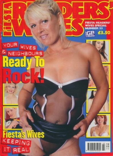 Front cover of Fiesta Readers Wives Special Number 33 magazine