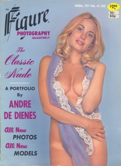 Front cover of Figure Photography Spring 1971 magazine
