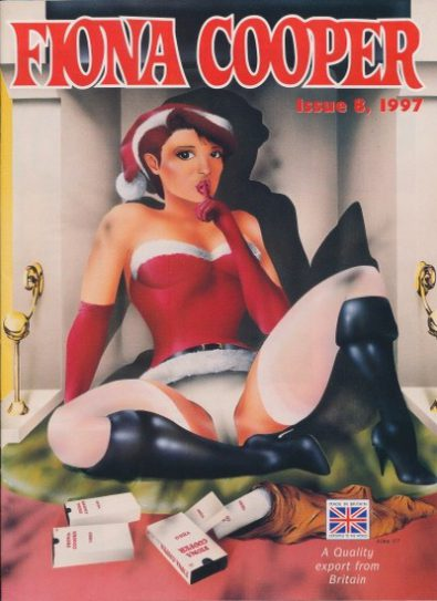 Front cover of Fiona Cooper Volume 8 1997 magazine