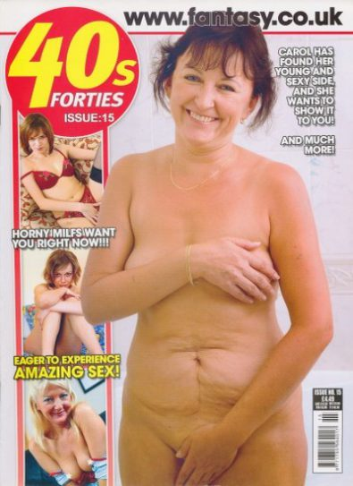 Front cover of 40's Forties No 15 magazine