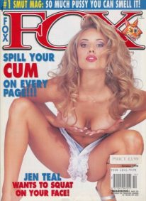 Front cover of Fox October 1998 magazine