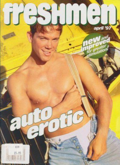 Front cover of Freshmen April 1997 magazine