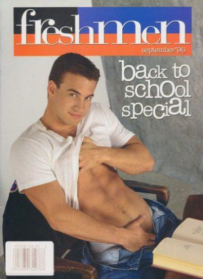 Front cover of Freshmen September 1996 magazine