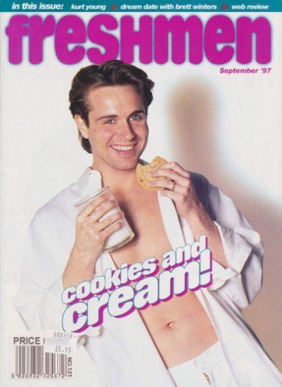Front cover of Freshmen September 1997 magazine