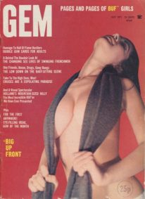 Front cover of Gem July 1971 magazine