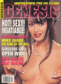 Front cover of Genesis May 1998 magazine
