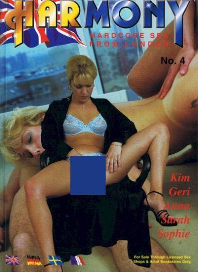 Front cover of Harmony No 4 magazine