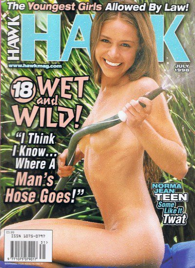 Front cover of Hawk July 1998 magazine