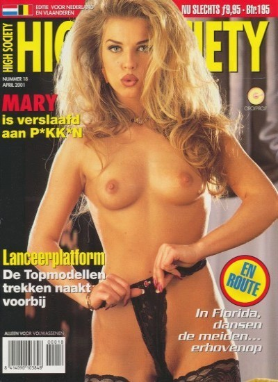 Front cover of High Society18 (Dutch) magazine