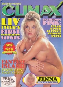 Front cover of High Society Climax No 2 magazine