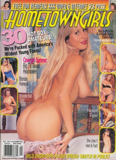 Front cover of Hometown Girls No 24 November 2004 magazine