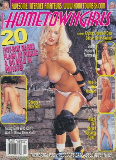 Front cover of Hometown Girls No 27 February 2005 magazine