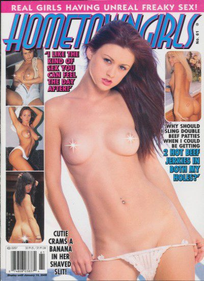 Front cover of Hometown Girls No 61 magazine