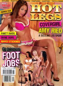 Front cover of Hot Legs Issue 1 magazine