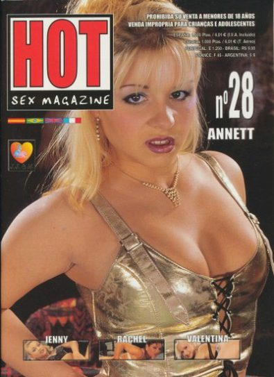 Front cover of Hot Sex Magazine No 28 magazine