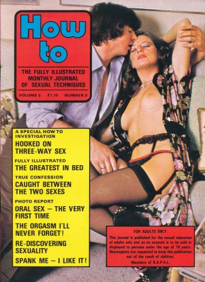 Front cover of How To Volume 5 No 9 magazine